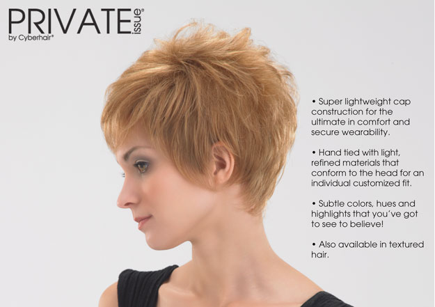 The Private Issue Line Offered By Mirage Hair Systems In